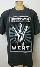 WEST SIDE Streetwise Men's T Shirt Gray Size 3XL Urban Streetwear Connection 3X