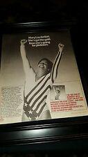 Mary Lou Retton ABC Fun Fit Rare Original Promo Poster Ad Framed!