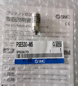 H● SMC PSE530-M5 Pressure Switch New