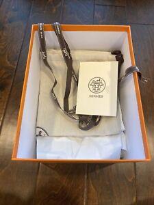 Autc HERMES 18 cm Pivoting Gift Box-Bag/ Dust Bag, Tissues, Ribbon & Crd Holder