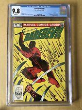 Daredevil #189 CGC 9.8 WP Death Of Stick