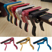 Durable Change Tune Clamp Key Trigger Capo Acoustic Electric Guitar Accessories