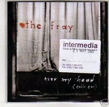 (D698) The Fray, Over My Head - DJ CD