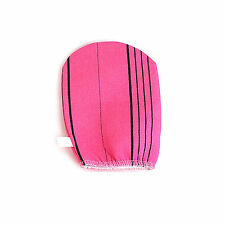 Korean Body Scrub Exfoliating Towel Bath Massage Skin Care Italy Towel 1P PINK