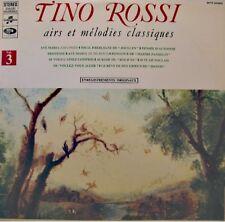 ++TINO ROSSI airs & melodies classiques vol3 LP COLUMBIA pensée d'automne VG++