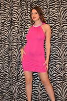 "Girls Cocktail Dress ""Super Mini"" HOT SEXY dress Party Clubbing Diamante Design"