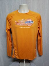 2018 Nyrr Staten Island Half Marathon Mens Small Orange Long Sleeve Jersey
