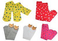Kids Girls Fancy Costume Stars Fox Over Knee High Calf Socks Age 5/6/7/8/9/10/11
