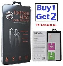 100%25 Genuine Gorilla Tempered Glass Film Screen Protector Samsung Galaxy N4- New