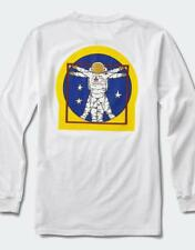 NEW WITH TAGS VANS NASA LIMITED EDITION LONGSLEEVE SPACE VN0A3IKBWHT FOR MEN