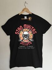 Wayne's World Inspired Stan Mikitas Donuts T-shirt - Retro Cult Comedy Film NEW