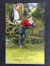 Vintage Postcard - Bamforth Song Card #78 - Eileen Alannah (2)