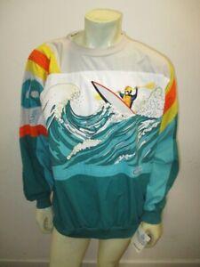 DEADSTOCK WITH TAGS Vintage ADIDAS 1980s Devil's Toenail Sweatshirt Size XL