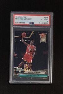 1992 Fleer Ultra #216 Michael Jordan PSA 6 EX-MT HOF Chicago Bulls New Slab