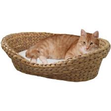 Panier pour chat en jacinthe d'eau tressée - SILVIO DESIGN