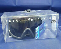 Childs Ski Goggles New Black / Gold Total Protection  9 - 12 Years Unisex