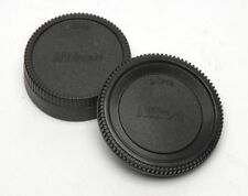Body Front + Rear Lens Cap Cover For Nikon AF AF-S AFS DSLR Camera LENS