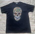 Original WWF tags Stone Cold Steve Austin Vintage Shirt XL Camouflage Skull RARE