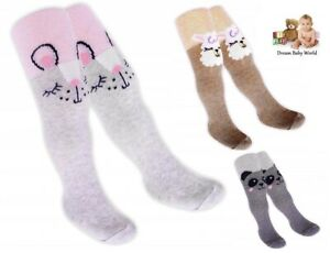 Yo! Baby GIRLS Cotton Tights warmers Soft 3 - 36 Months Toddler Pants NEW