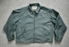 Vtg 60s SPORTCRAFTER Rugby Green Cotton Drizzler Ricky Harrington Jacket XL 48S