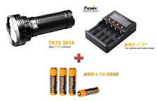 Fenix tk75 mod. 2018 + Fenix are-c2+ Chargeur + 4 Fenix arb-l18 Batteries