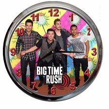orologio NUOVO da parete BIG TIME RUSH watch music cd musica