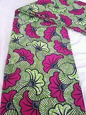 New african wax print fabric ankara superbe bright bold colors vendus par yard