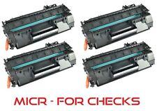 4pk - MICR Toner Cartridge (05A) for HP CE505A LaserJet P2035, P2035n, P2050