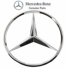 For Mercedes-Benz R129 S210 W163 W202 C E ML SL-Class Trunk Star Emblem Genuine