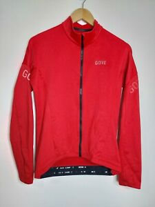 GORE WEAR Men's Thermo Cycling Jersey C3 M Red - Please Read Description