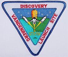 Aufnäher Patch Raumfahrt NASA STS-1V Discovery Vandenberg Launch Site .....A3090