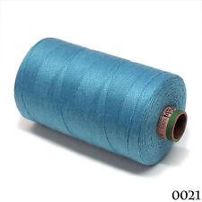 Amann 100% Polyester Core-Spun Sewing Thread Sabac 80 1000M Color 021 Sky Blue