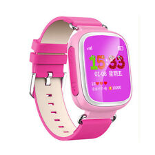 Anti-lost Children Kids Smart Wrist Watch Tracker SOS SIM Location Color Screen