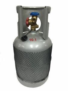 SEI LARGE EMPTY REFRIGERANT CYLINDER GAS BOTTLE 10KG R410a R134a R404a R407 R22