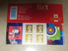 Olympics Decimal Great Britain Barcode Stamp Booklets (1987-Now)