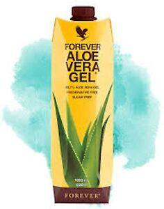 Aloe Vera Gel Forever Living Drink 1 Litre In Packs(1,2,3)