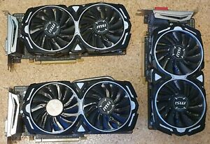 MSI Armor RX 570 Grafikkarte/ GPU, 1 Jahr Garantie, Gaming/ Mining, BTC/...
