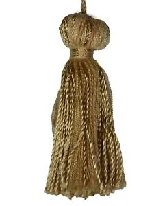 """Conso Princess II Collection 22051 C03 SHELL Decorative Bell 3"""" Tassel 3"""" Loop"""