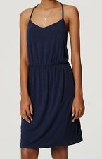 NWT Ann Taylor LOFT Jersey Strappy Dress Size S