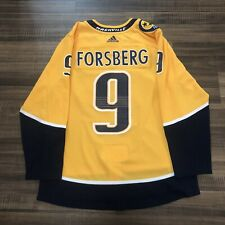 Adidas Nashville Predators Filip Forsberg NHL Hockey Jersey Yellow Home 52