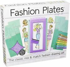 New Fashion Plates The Classic Mix & Match Unique Fashion Design Set