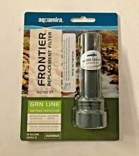 Aquamira Frontier Pro Series III GRN Line replacement filter! H20 Water System