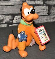 EXTREM Seltene Alte Vintage Walt Disney Pluto Hund Figur Groß Applause Spielzeug