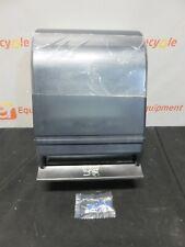 Paper Towel Roll Push Lever Dispenser 215 Translucent Navy Black New