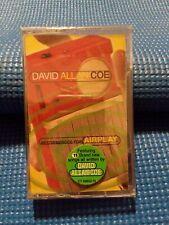 RARE 1999 David Allan Coe Cassette Tape Outlaw Country Music