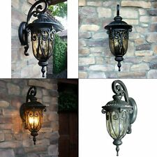 Hailee 1-Light Outdoor Wall Lighting Oil-Rubbed Bronze Lantern Sconce E26 Metal