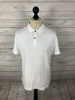 SUPERDRY IDRIS ELBA Polo Shirt - Large - White - New With Tags - Men's