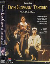 Don Giovanni O Sia II Convitato Di Pietra (DVD, 2009) Guiseppe Gazzinga, Bertati
