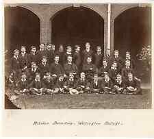 Angleterre, Wellington College Blücher Dormitory vintage albumen print  Tirage