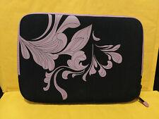 """HP 10"""" Laptop Sleeve Bag Pink Flowers"""